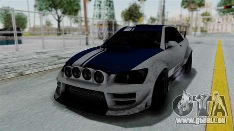 GTA 5 Karin Sultan RS Rally PJ für GTA San Andreas Räder