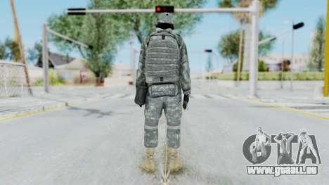 Acu Soldier 4 pour GTA San Andreas troisième écran
