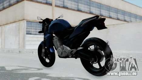 Honda CB300R pour GTA San Andreas laissé vue