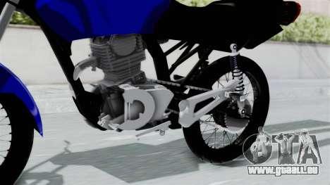 Honda CG Titan 2014 Stunt für GTA San Andreas rechten Ansicht