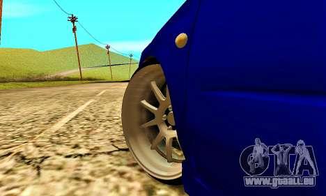 Subaru Impreza WRX STI Lisa pour GTA San Andreas vue de côté