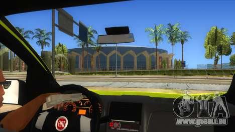 Fiat Fiorino für GTA San Andreas Innenansicht