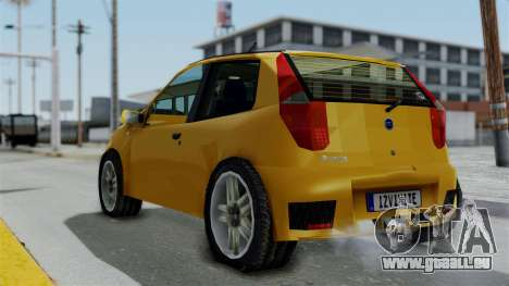 Zastava 10 2006 Final Version für GTA San Andreas linke Ansicht