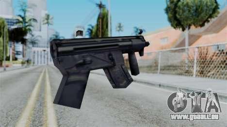 Vice City Beta MP5-K pour GTA San Andreas deuxième écran