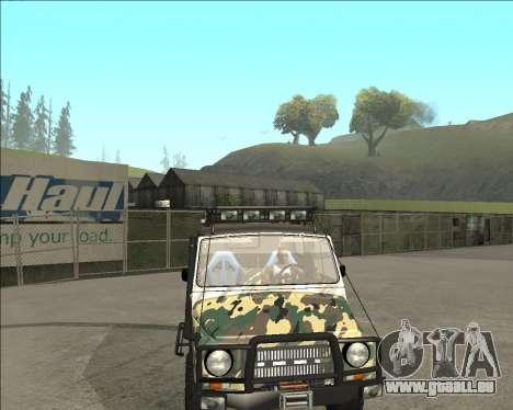 969М LuAZ Hors Route pour GTA San Andreas vue de droite