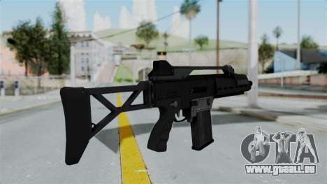 GTA 5 Special Carbine - Misterix 4 Weapons pour GTA San Andreas deuxième écran