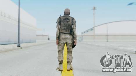 Crysis 2 US Soldier FaceB2 Bodygroup A pour GTA San Andreas troisième écran