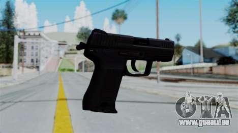 HK45 Black für GTA San Andreas zweiten Screenshot