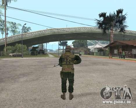 Russische Armee Skin Pack für GTA San Andreas fünften Screenshot