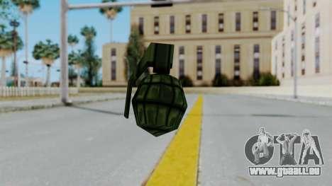 GTA 3 Grenade für GTA San Andreas