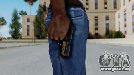 HK45 Sand Frame für GTA San Andreas dritten Screenshot