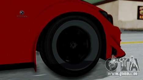 GTA 5 Karin Sultan RS Rally pour GTA San Andreas sur la vue arrière gauche
