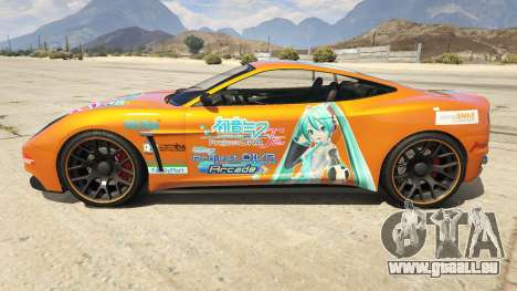 GTA 5 Hatsune Miku Massacro linke Seitenansicht
