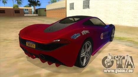 GTA 5 Progen T20 Styled version für GTA San Andreas rechten Ansicht