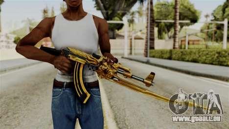 Dragon AK-47 für GTA San Andreas dritten Screenshot
