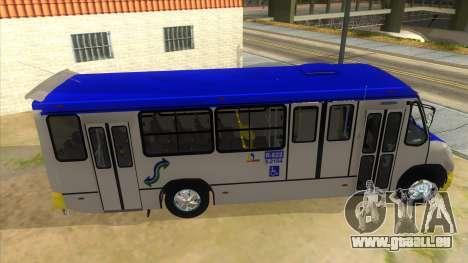 CAMION R622 pour GTA San Andreas vue de côté