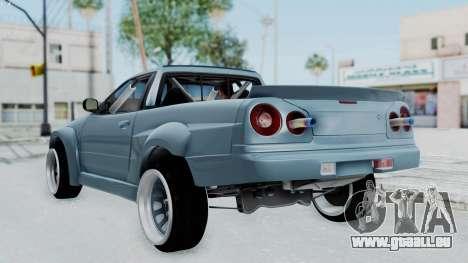 Nissan Skyline R34 PickUp für GTA San Andreas linke Ansicht