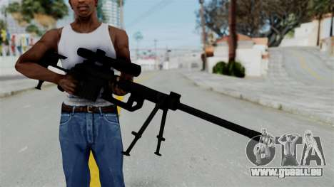 M2000 CheyTac Intervention für GTA San Andreas