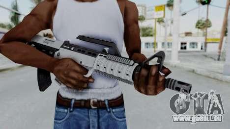 GTA 5 Bullpup Rifle - Misterix 4 Weapons für GTA San Andreas dritten Screenshot
