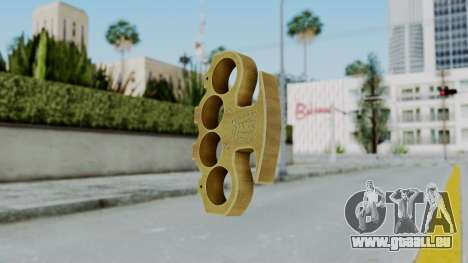 The King Knuckle Dusters from Ill GG Part 2 pour GTA San Andreas deuxième écran
