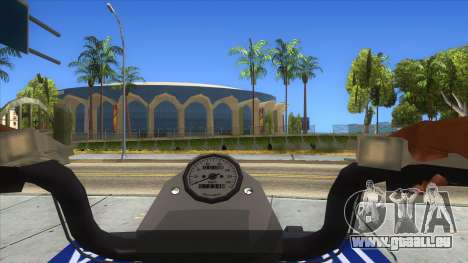 ATV Polaris Police für GTA San Andreas Innenansicht
