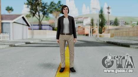 GTA 5 Karen Daniels Biker für GTA San Andreas zweiten Screenshot