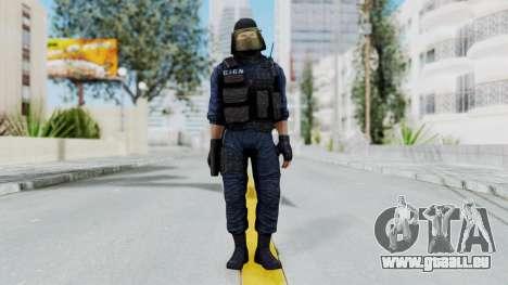 GIGN 1 Masked from CSO2 pour GTA San Andreas deuxième écran