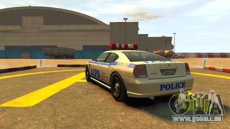 Bravado Buffalo Police Patrol [original wheels] für GTA 4 hinten links Ansicht