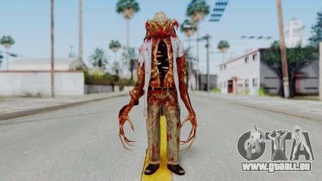 Zombie Scientist Skin from Half Life für GTA San Andreas zweiten Screenshot