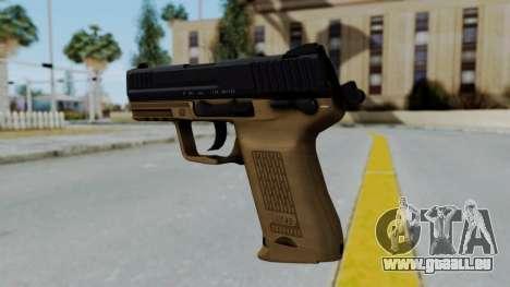 HK45 Sand Frame pour GTA San Andreas deuxième écran