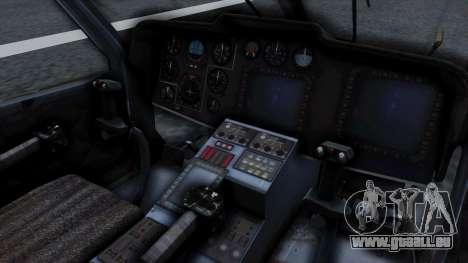 PO-34 Orca pour GTA San Andreas vue de droite