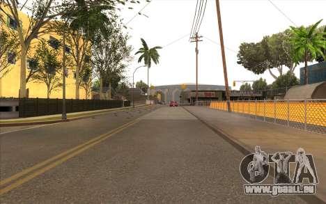 Des travaux de réparation sur Grove Street pour GTA San Andreas cinquième écran