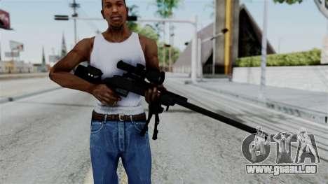 TAC-300 Sniper Rifle für GTA San Andreas dritten Screenshot