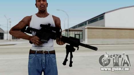 McMillan CS5 pour GTA San Andreas troisième écran