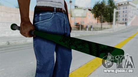GTA 5 Baseball Bat 1 für GTA San Andreas dritten Screenshot