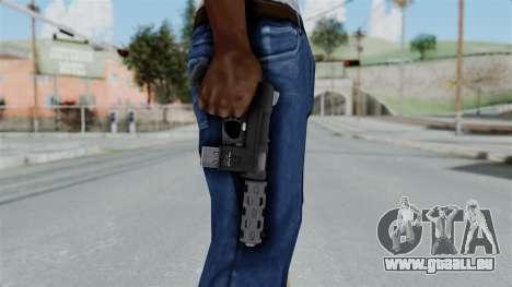 GTA 5 Machine Pistol - Misterix 4 Weapons pour GTA San Andreas troisième écran
