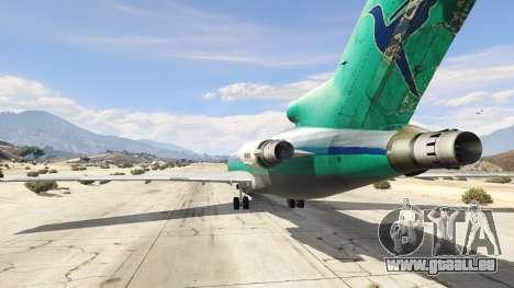 GTA 5 Boeing 727-200 dritten Screenshot