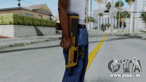 GTA 5 Online Lowriders DLC Assault SMG für GTA San Andreas