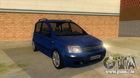 Fiat Panda V3 für GTA San Andreas Rückansicht