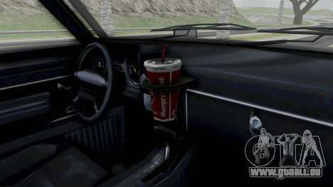 GTA 5 Karin Rebel 4x4 IVF pour GTA San Andreas vue de droite