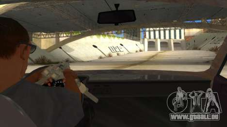Dacia 1310 Rusty v2 pour GTA San Andreas vue intérieure