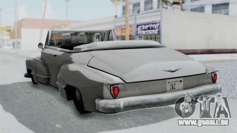 Broadway Augmentée pour GTA San Andreas vue de droite