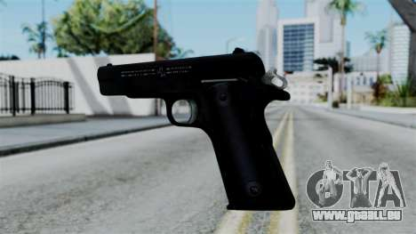 No More Room in Hell - Colt 1911 pour GTA San Andreas troisième écran