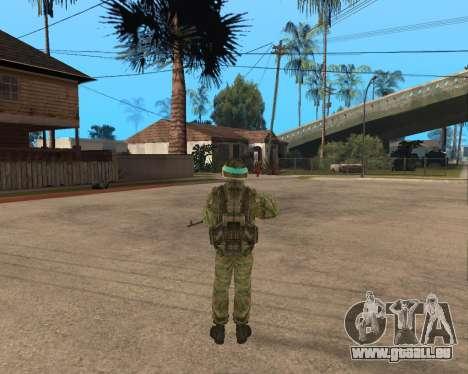 Russische Armee Skin Pack für GTA San Andreas dritten Screenshot