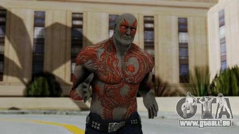 Marvel Heroes - Drax pour GTA San Andreas