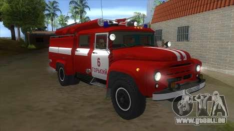 ZIL 130 AC-40 pour GTA San Andreas vue arrière