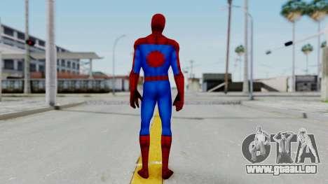 Marvel Future Fight Spider Man Classic v2 für GTA San Andreas dritten Screenshot