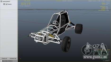 GTA 5 Kart Cross rechte Seitenansicht