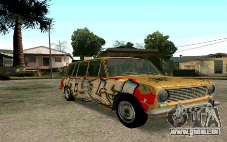 VAZ 2102 BK pour GTA San Andreas laissé vue