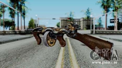 Dragon Thompson für GTA San Andreas dritten Screenshot